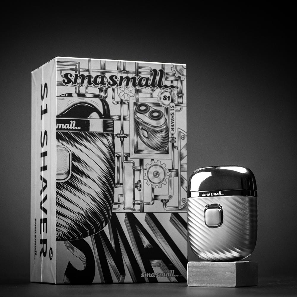 昔馬SMASMALL-電動刮鬍刀禮盒